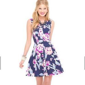 Lilly Pulitzer 🌷💙☀️💕 Clove Navy Dress A-line